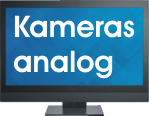 Video-monitor-button-Kameras-analog